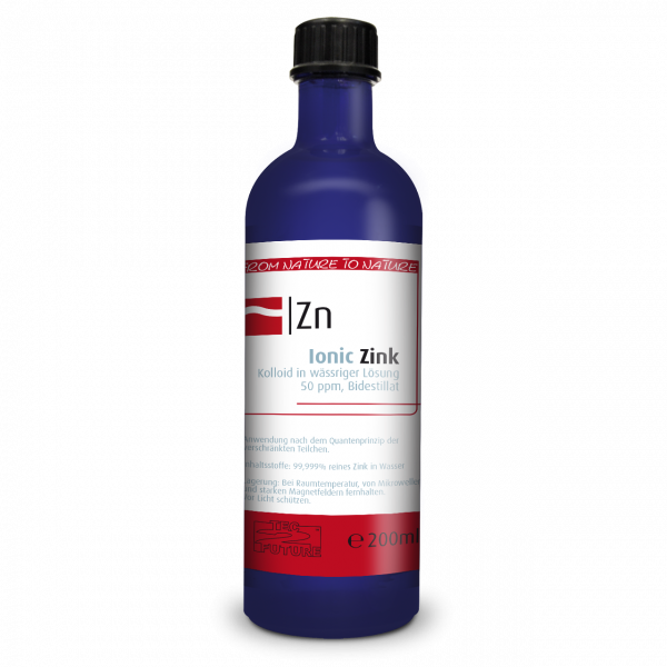 Ionic kolloid. Zink (Zn) 200 ml