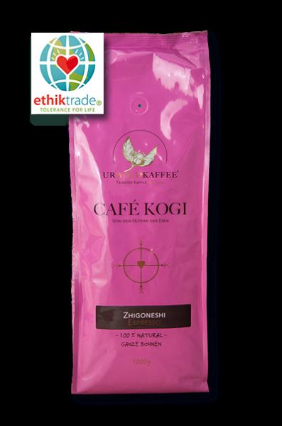 Café Kogi - Zhigoneshi, ganze Bohne 1kg