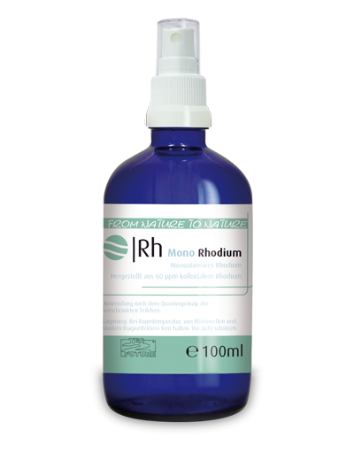 Monoatomares Rhodium 100ml (Rh)