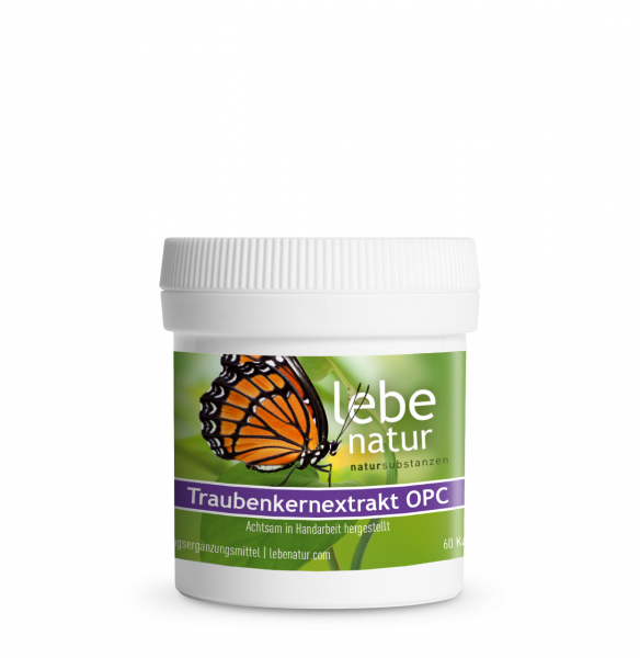lebe natur® Traubenkernextrakt (OPC) 60er