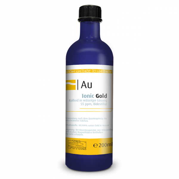 Ionic kolloid. Gold (Au) 200 ml