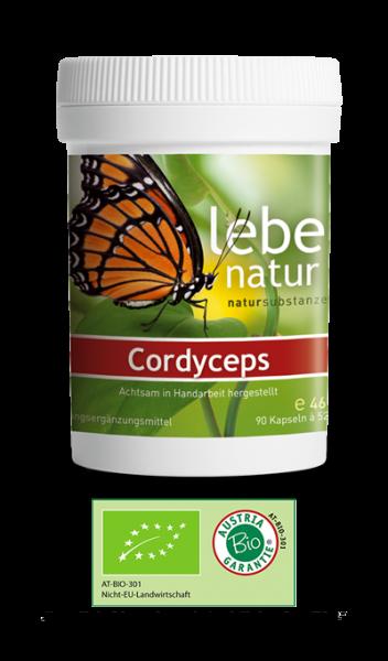 lebe natur® Cordyceps sinensis, Pilz 90er BIO