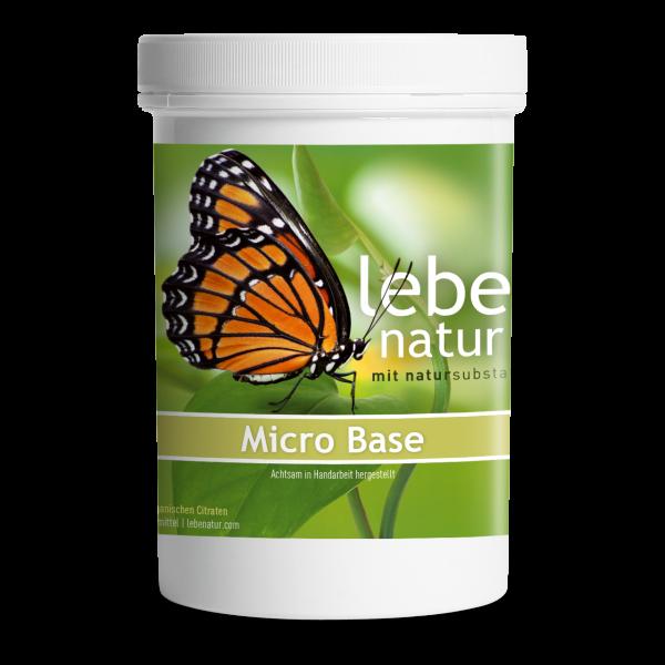 lebe natur® Micro Base Basenpulver 360 g