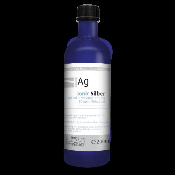 Ionic kolloid. Silber 200ml (Ag) Flasche