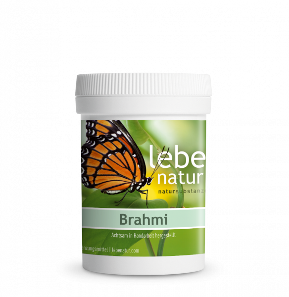 lebe natur® Brahmi 90er Dose