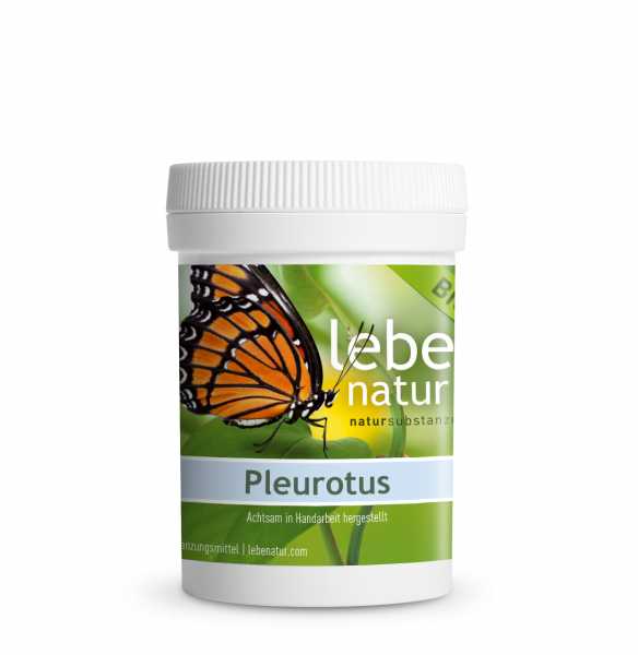 lebe natur® Pleurotus Pilz BIO 90er