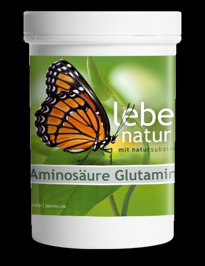 lebe natur® Aminosäure Glutamin 350 g