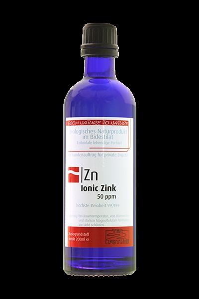 Ionic kolloid. Zink 200ml (Zn)
