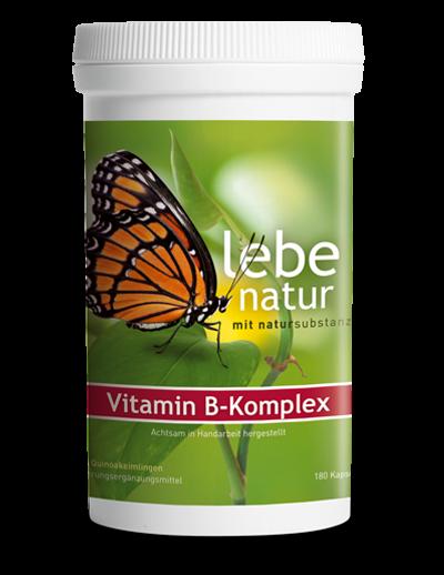 lebe natur® Vitamin B-Komplex aus Quinoa 180er