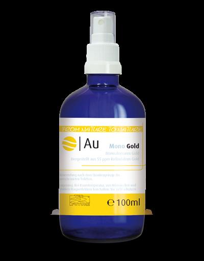 Monoatomares Gold 100ml (Au)