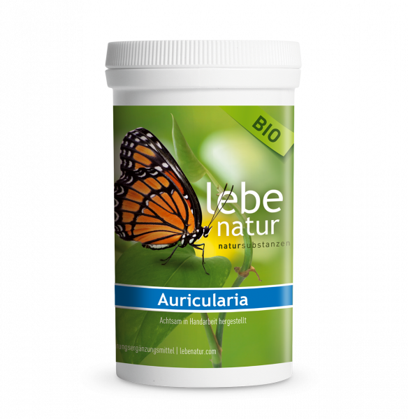 lebe natur® Auricularia Pilz BIO 180er