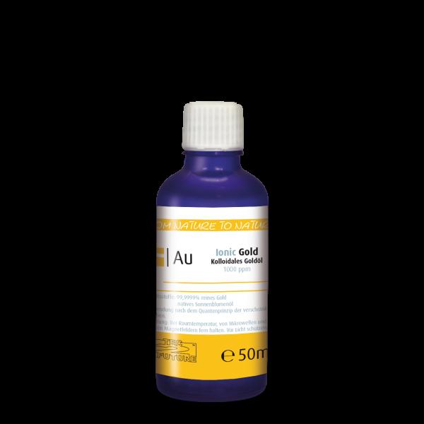 Kolloidales Gold-Öl (Au) 50 ml