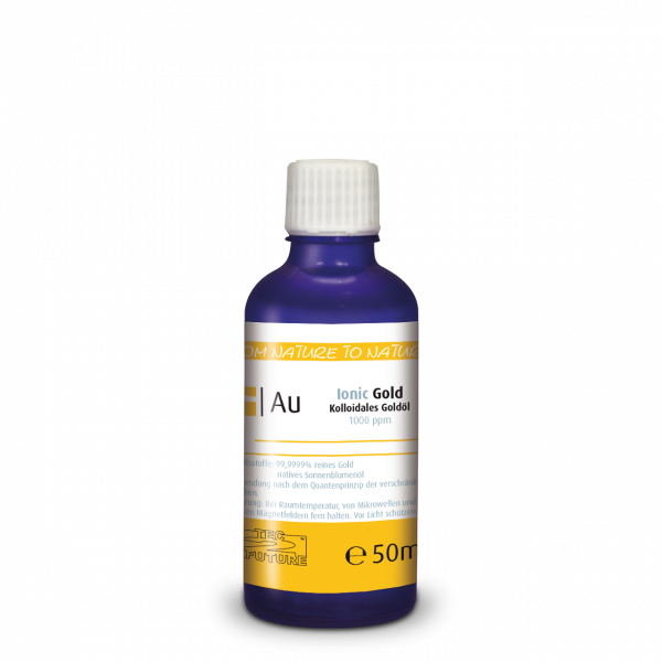 Kolloidales Gold-Öl 50ml (Au) Flasche