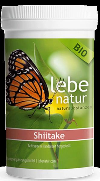 lebe natur® Shiitake Pilz BIO 180er
