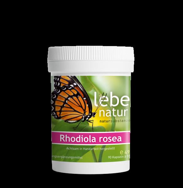 lebe natur® Rhodiola rosea Dose
