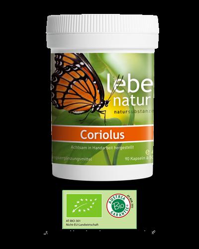 lebe natur® Coriolus Pilz BIO 90er