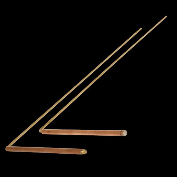 Winkelrute, aus achtsamer händischer Herstellung