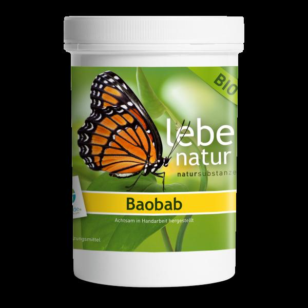 lebe natur® Baobab Pulver BIO 270 g
