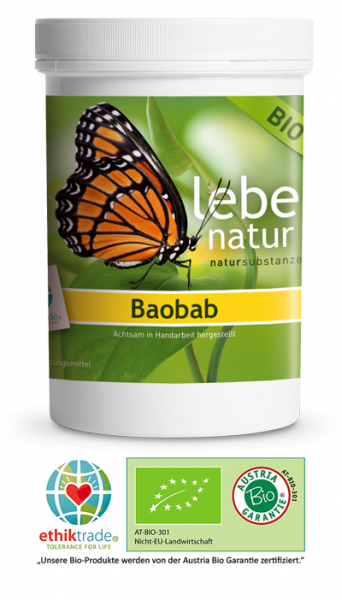 lebe natur® Baobab BIO