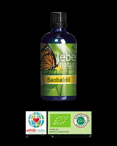 lebe natur® Baobaböl BIO 100ml