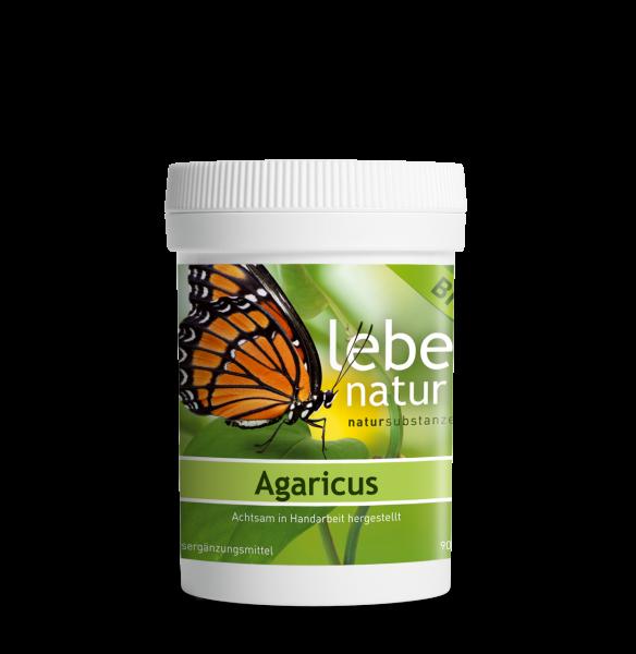 lebe natur® Agaricus Pilz BIO 90er