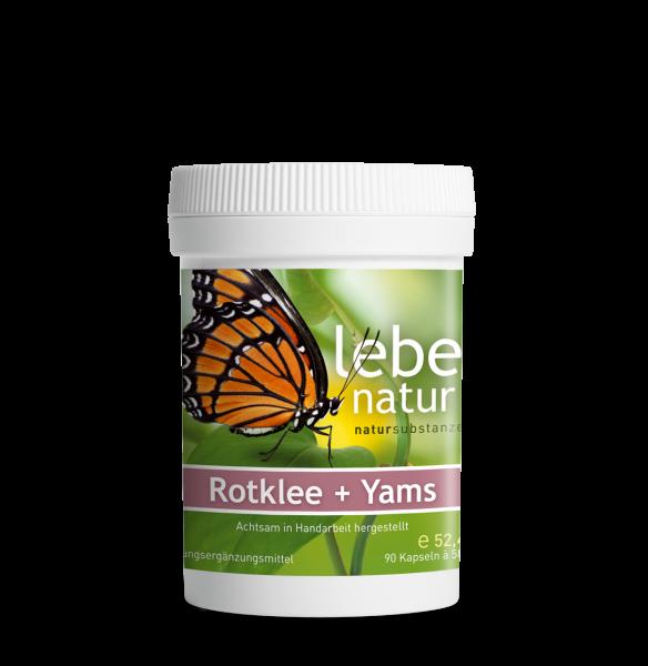lebe natur® Rotklee + Yams 90er