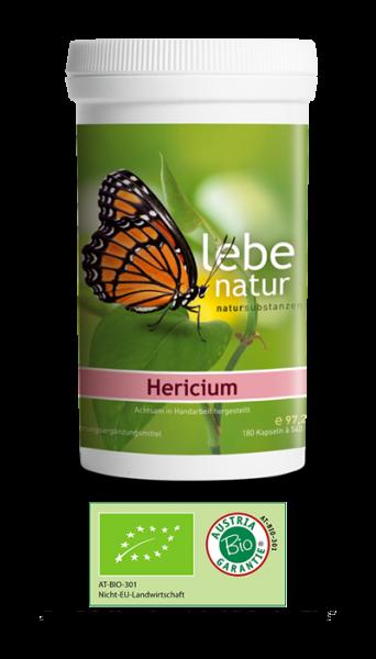 lebe natur® Hericium erinaceus, Pilz 180er BIO