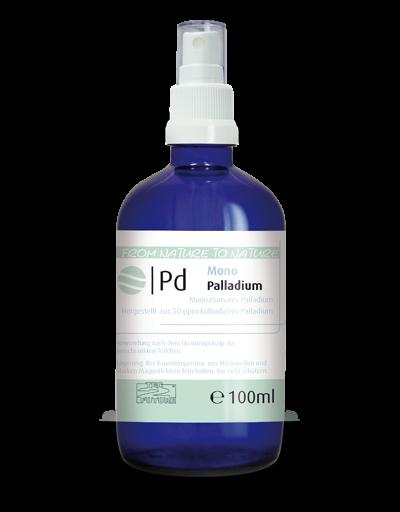 Monoatomares Palladium 100ml (Pd)