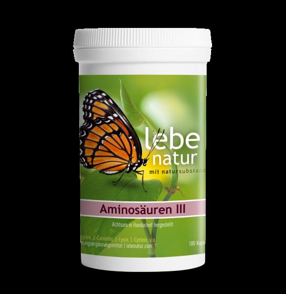 lebe natur® Aminosäuren III 180er