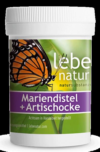 lebe natur® Mariendistel + Artischocke 90er