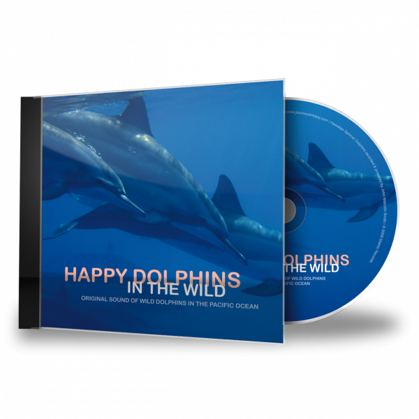Happy Dolphins in the Wild - CD