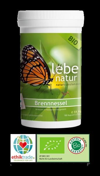 lebe natur® Brennnessel BIO 180er
