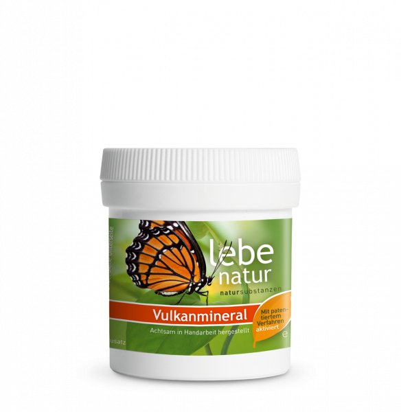 lebe natur® Vulkanmineral Badezusatz tribomechanisch aktiviert 45 g Dose