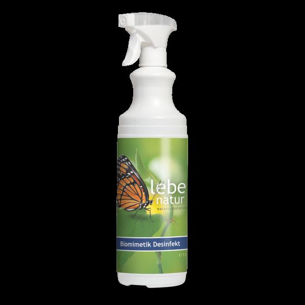 lebe natur® Desinfekt Biomimetik 1 L mit Sprühkopf