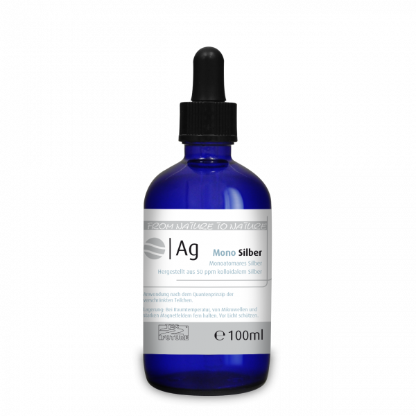 Monoatomares Silber (Ag) 100 ml