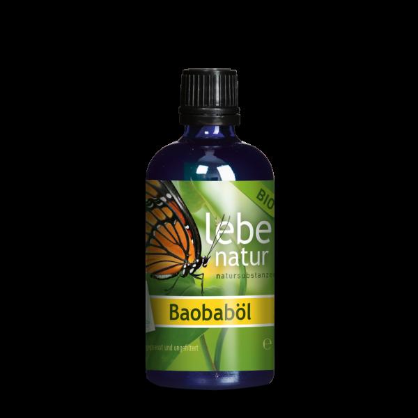 lebe natur® Baobaböl BIO 100 ml