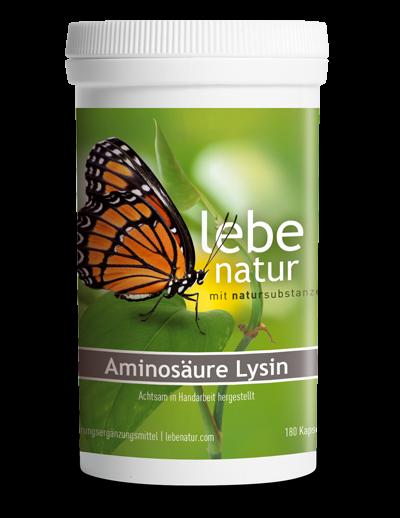 lebe natur® Aminosäure Lysin