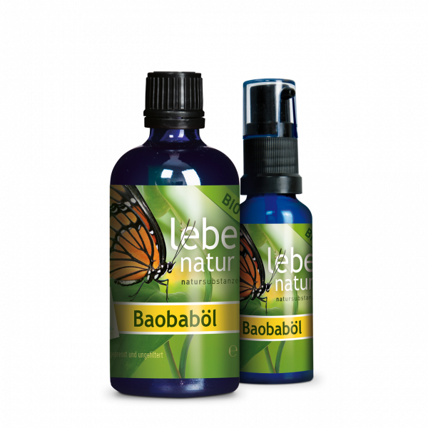 lebe natur® Baobaböl BIO Package 100 ml + 30 ml