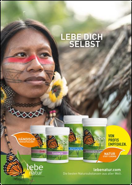 lebe natur® Plakat A2 Hochformat - LEBE DICH SELBST