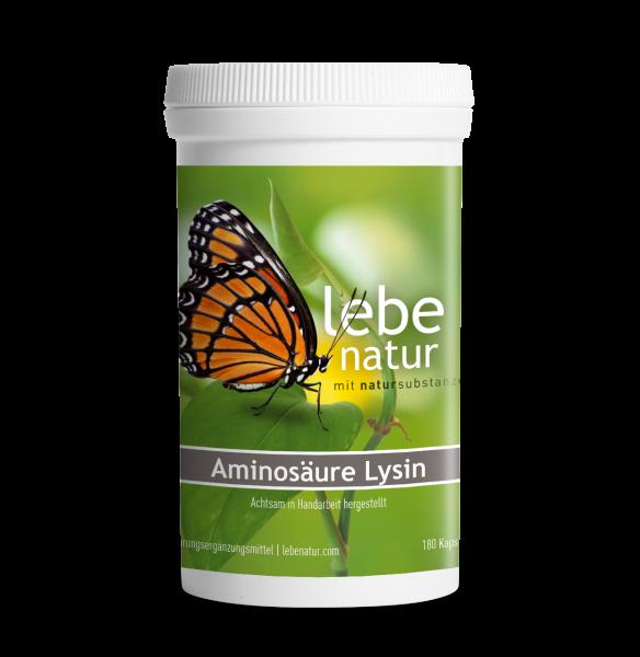 lebe natur® Aminosäure Lysin 180er