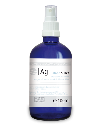 Monoatomares Silber 100ml (Ag)