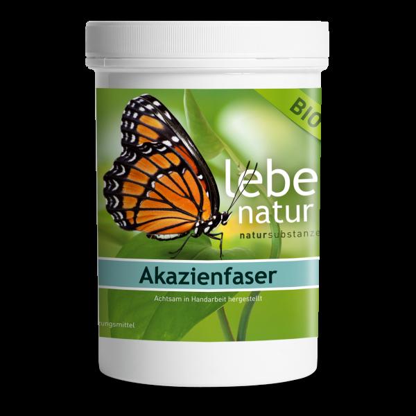 lebe natur® Akazienfaser Pulver BIO 360 g