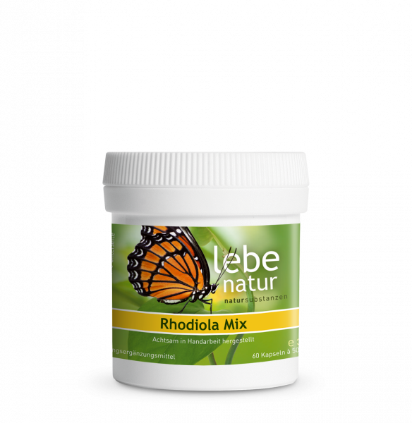 lebe natur® Rhodiola Mix Dose