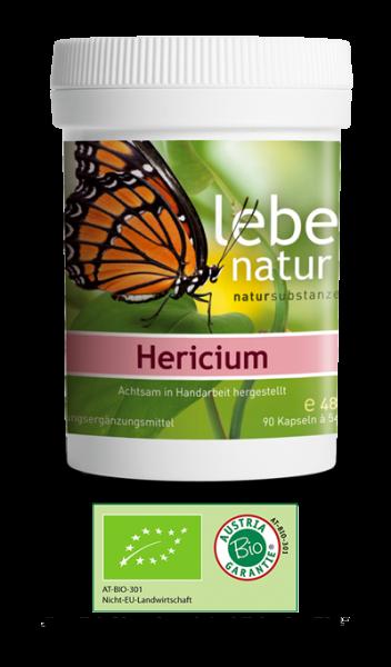lebe natur® Hericium Pilz BIO 90er
