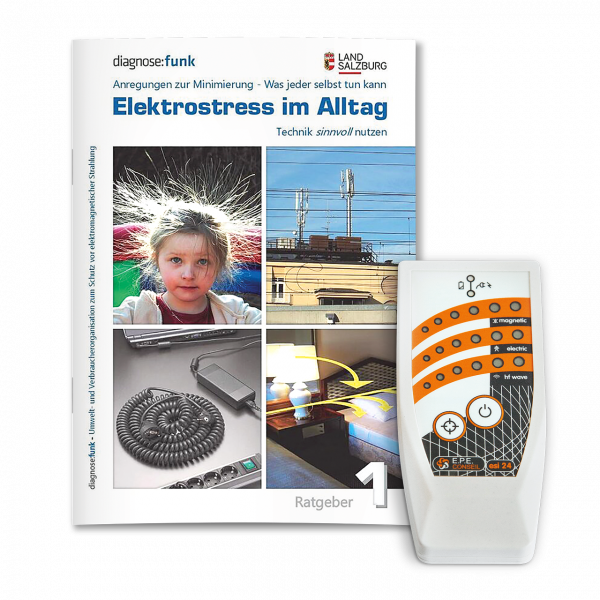 ESI 24 - High Speed Electrosmog Detector + Ratgeber